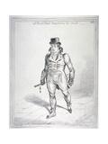All Bond Street Trembled as He Strode  1802