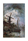 Landscape with a Mill  1888