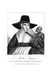 Mother Shipton (1488-C156) English Witch and Prophetess  1804
