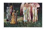 The Vision of the Holy Grail  1891