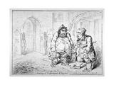 Meeting of Unfortunate Citoyens  1798