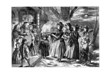 The Wassail Bowl  1860