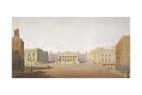 Trafalgar Square  Westminster  London  1828