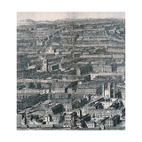 Panoramic View of London  1720