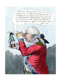 Napoleon and King George III as Gulliver and the King of Brobdingnag  July 1803
