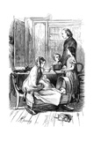 Scene from Framley Parsonage by Anthony Trollope  1860