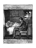 Illustration for the Poem Last Words by Owen Meredith  1860