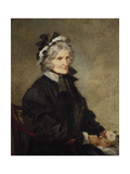 Portrait of the Artist's Mother  1874