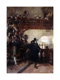 The Arrest of Councillor Broussel  26th August  1648