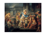 Alexander Cuts the Gordian Knot  Late 18th/Early 19th Century