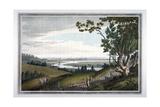 View of Abingdon from Nuneham Park  Berkshire  1793