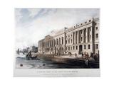 Custom House  City of London  1817