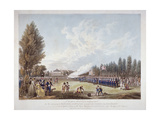 The Hans-Town Association Exercising at their Ground in Knightsbridge  London  1799