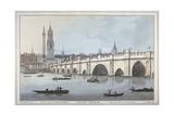 Old London Bridge  1795