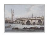 London Bridge  London  1790