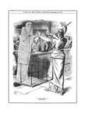Britannia Holding Back Cholera at British Ports  1892
