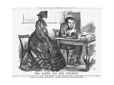 Mrs North and Her Attorney  1864