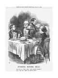 Pudding before Meat  1866
