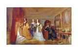 Lucy  Countess of Carlisle  and Dorothy Percy's Visit to their Father Lord Percy  C1831