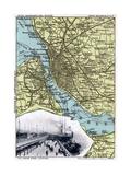 Map of Liverpool  Merseyside  1903
