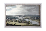 View of Streatley and Goring in Berkshire and Oxfordshire  1793