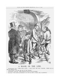 A Block on the Line  1867