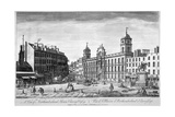 View of Northumberland House  Charing Cross  Westminster  London  1794