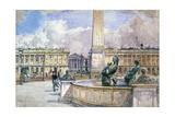 Place De La Concorde  1847-1908