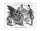 The Lion of St Mark  1866