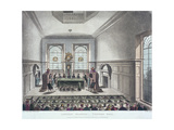 Drawing of the State Lottery  Coopers' Hall  London  1809
