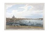 Blackfriars Bridge  London  1795