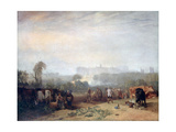 Ploughing Up Turnips  Near Slough  (Windsor)  C1809