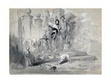 Hudibras in the Stocks  1850