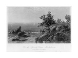 On the Beverly Coast  Massachusetts  19th Century