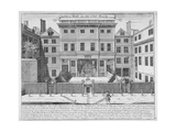 Justice Hall  Old Bailey  City of London  Pre 1737