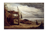 A Coast Scene  1860