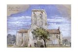 Shoreham Church  Kent  1844
