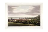 View of Greenwich  London  1795