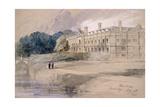 Clare Hall  Cambridge  1846