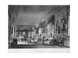 Interior View of Dr Fisher's Apartments  Charterhouse  Finsbury  London  1816