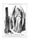 Benjamin Disraeli  British Conservative  Cartoon from Punch  1864