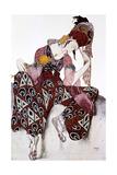 Iskander, Costume Design for the Ballet La Peri, C1913 Giclée par Leon Bakst