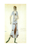 Costume Design for Ida Rubinstein as Ishtar  1924