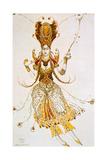 The Firebird  Costume Design for Stravinsky's Ballet the Firebird  1910