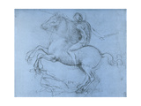 Study for the Sforza Monument  C1488-1493