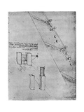 Sketch of a Sluice  Late 15th or Early 16th Century