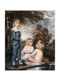 Children Bathing  18th Century