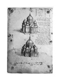Designs for a Central Church  C1488-1490