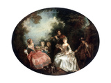 Concert in a Park  18th Century