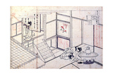 From the Series Hundred Poems by One Hundred Poets: Shikishi Naishinno  C1830